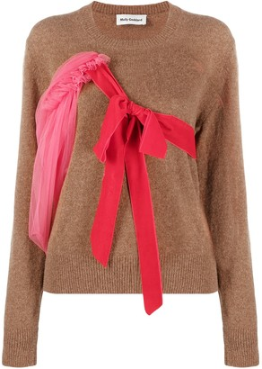 Molly Goddard Bow-Embellished Jumper