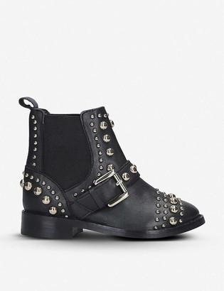 Kurt Geiger Mini Stinger leather boots 4-7 years