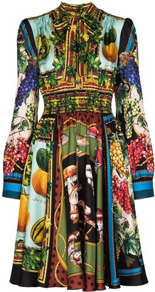 Dolce & Gabbana Autumn Print Dress