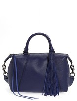 Rebecca Minkoff Small Isobel Leather Satchel - Blue