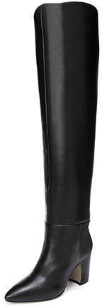 Sam Edelman Hutton Leather Over-The-Knee Boots