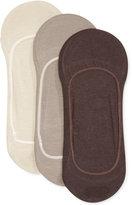 Calvin Klein Men's Cotton No-Show Liner Socks 3-Pack