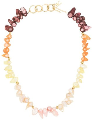 Joanna Laura Constantine Gold-Plated Pearl Necklace