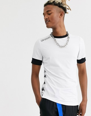Kappa side logo t-shirt-White