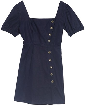 Socialite Square Neck Puff Sleeve Mini Dress