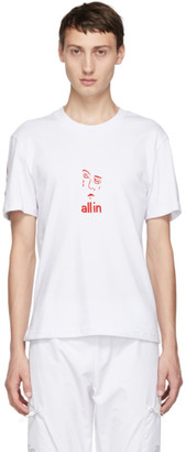 all in White Jacknave T-Shirt