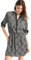 Gap Popover print dress