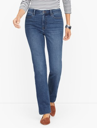 Talbots Barely Boot Jeans - Bermuda Tide - Curvy Fit
