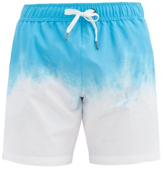 Onia Charles 7 Gradient Swim Shorts - Blue White