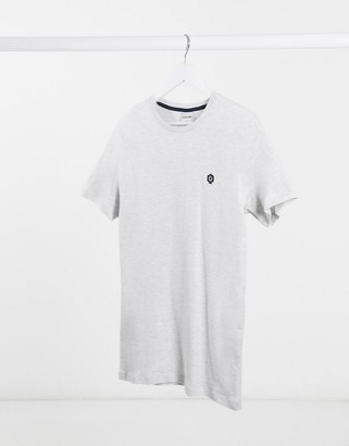 Jack and Jones Core embroidery logo t-shirt
