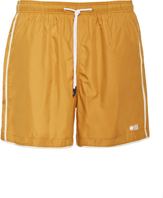 Solid & Striped The Classic Piped Swim Shorts