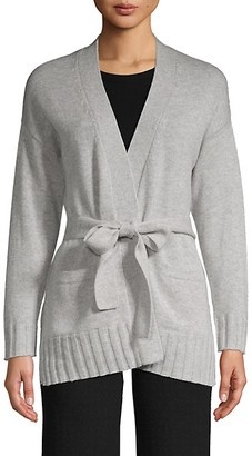 Amicale Belted Cashmere Cardigan