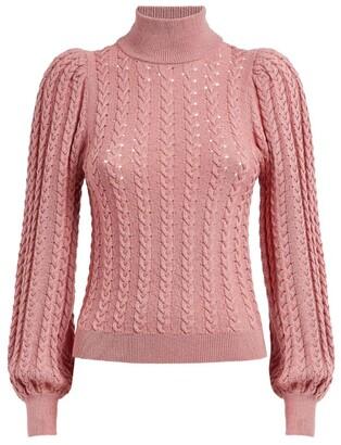 Alice + Olivia Alice+Olivia Cable-Knit Esme Sweater