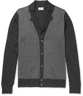 Brioni - Silk, Wool And Cashmere-blend Cardigan