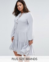 Alice & You Shirt Dress With Frill Hem