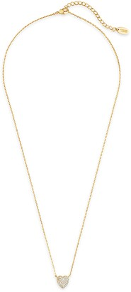 Sterling Forever Heart Pendant Necklace