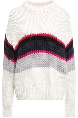 IRO Verila Striped Wool-blend Sweater