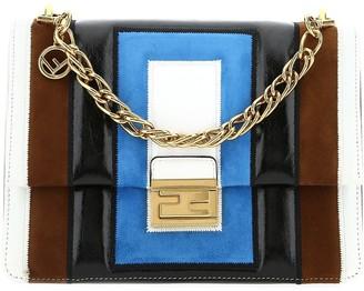 Fendi Kan U Colour Block Shoulder Bag