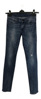 Thumbnail for your product : Joseph Blue Cotton - elasthane Jeans