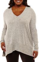 Arizona Soft Tunic T-Shirt-Juniors Plus