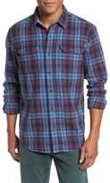 Tailor Vintage Men's Plaid Heavy Twill Shirt