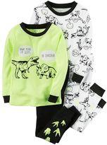 Carter's Toddler Boy Dino Tee & Pants Pajama Set