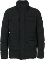 Peuterey padded jacket - men - Cotton/Feather Down/Polyamide/Spandex/Elastane - S