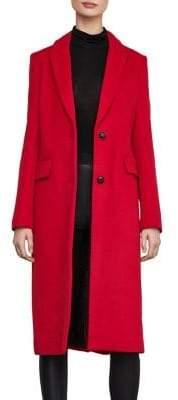 BCBGMAXAZRIA Madelyn Long Wool Coat