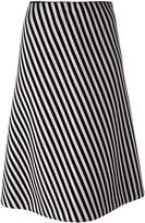 Christian Wijnants striped a-line skirt - women - Polyurethane/Spandex/Elastane/Viscose - 34