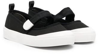 Mini Melissa Touch-Strap Ballerina Shoes