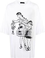 Undercover cartoon print T-shirt