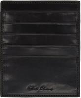Rick Owens Black Multiple Card Holder
