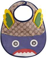 Gucci Monster Monogrammed Bib