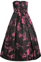 Oscar de la Renta Floral-jacquard Gown - Pink