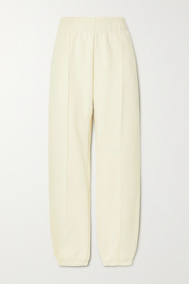 Nike Cotton-blend Jersey Track Pants - Cream