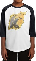 CA99 FREE Teen Boys & Girls Kop On Fire 3/4 Sleeve Baseball Raglan Tee Jersey