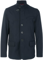 Fay toggle detail blazer - men - Polyester/Spandex/Elastane - L