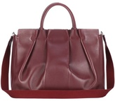 The Row Peggy leather tote