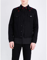 Givenchy Star-embroidered Denim Jacket