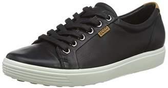 Ecco do not use Women's Soft 7 Ladies Low-Top Sneakers, Black (BLACK1001)