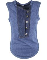 Stella McCartney Button Placket Tank Top