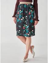 Des Petits Hauts Sultana Printed Skirt, Paradise