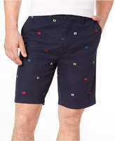 """Tommy Hilfiger Men's Wellfleet Embroidered 9"""" Shorts, Created for Macy's"""