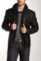7 Diamonds Los Angeles Hooded Genuine Leather Jacket