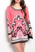 Ooh La La Boutique Coral Sweater Dress