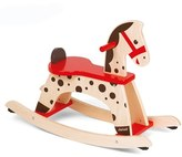 Janod Toddler 'Caramel' Wood Rocking Horse