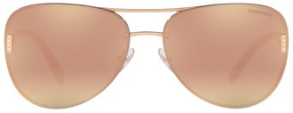 Tiffany & Co. Pilot Logo Sunglasses