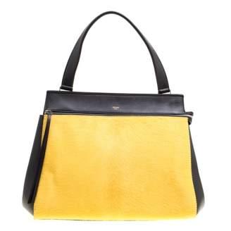 Celine Edge Yellow Leather Handbags