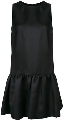 Carolina Herrera Sleeveless Flared-Hem Dress