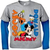 Freeze Mickey Mouse Boy Twofer Tee (Little Boys)
